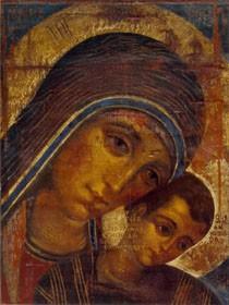 Madonna con bambino di Kiko Arguello