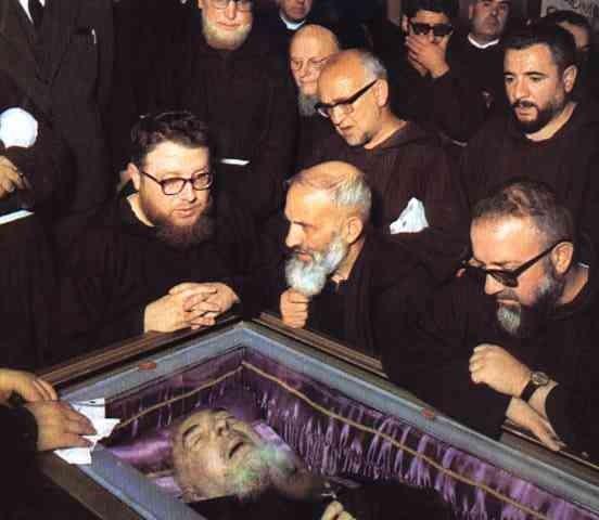 La morte di Padre Pio