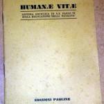 Credere Oggi: la profezia dell'enciclica 'Humanae Vitae'