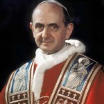 Papa Paolo VI celebra la messa in italiano