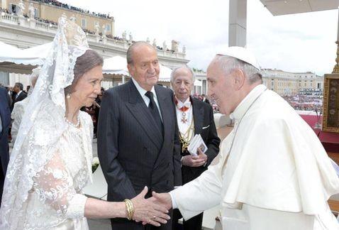 Papa Francesco Incontra Re Juan Carlos E La Regina Sofia Korazym Org
