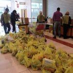 Banco alimentare: donazioni in leggero decremento