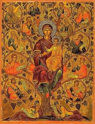 Risultati immagini per icone della radice di Iesse