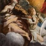 Giovanni Lanfranco, Angeli e musici 2, Roma, Chiesa dei Cappuccini ridotto