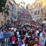 Il 42° Pellegrinaggio Macerata-Loreto in diretta su Tv2000: pellegrini sempre