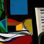 7. Renato Guttuso, Natura morta con pianoforte, 1947