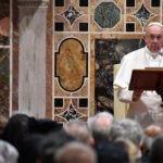 Papa Francesco indica la strada dell'unità per arrivare alla santità