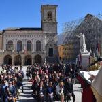 Norcia in festa per san Benedetto, patrono d'Europa