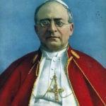 Papa Pio XI contro le leggi razziali