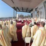 La messa con il Papa a Monza