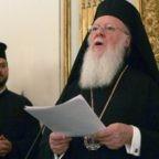 A Bologna il patriarca Bartolomeo chiede un'alleanza per il creato