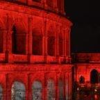 Al Colosseo in ricordo dei martiri cristiani