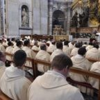 Il papa ai missionari della misericordia: testimoniare Gesù