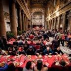 Natale: in 60.000 ai pranzi con i poveri in Italia, in 240.000 nel mondo