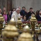 Papa Francesco al Te Deum: Gesù libera dalla schiavitù