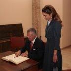 Assisi consegna la 'lampada della pace' al re di Giordania