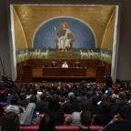 Il papa agli studenti dell'Università Lateranense: Dio non delude