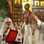 Il card. Sandri in Egitto sulle orme di san Francesco e di sant'Antonio