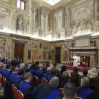 Il papa alle province: siate presidio per uno sviluppo sostenibile
