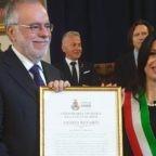Il prof. Riccardi cittadino onorario di Assisi
