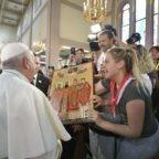 Papa Francesco oggi con i cattolici di Bulgaria e la preghiera interreligiosa
