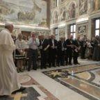 Il papa ai cappellani marittimi concede le licenze dei Missionari della Misericordia