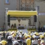 Camerino ringrazia il papa per l'incitamento a non mollare