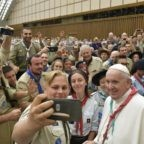 Papa Francesco agli scout: siate costruttori dell'Europa
