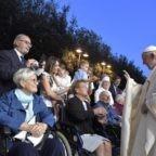 Il papa ad Albano: Dio si ricorda