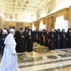 Papa Francesco ai vescovi di rito orientale: promotori di riconciliazione