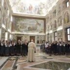 Papa Francesco alle Paoline: seminare la Parola con la fantasia