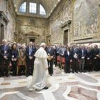 Papa Francesco ai giudici chiede una giustizia riparativa