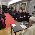 Papa Francesco e i vescovi del Giappone, un dialogo sulla pace