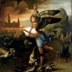 San Michele e il drago di Raffaello