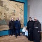 Colletta alimentare del Real Circolo Francesco II di Borbone a Napoli in occasione dell'Immacolata