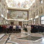 Papa Francesco alle Ausiliarie Diocesane: annunciare la gioia della Resurrezione