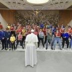 Papa Francesco ai giovani: la bellezza si costruisce insieme