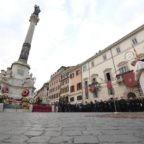 Papa Francesco ha affidato Roma all'Immacolata Concezione
