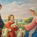 29 dicembre 2019, Domenica della Sacra Famiglia di Gesù, Maria e Giuseppe