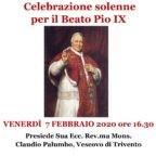 7 febbraio, memoria liturgica del Beato Pio IX. Solenne Santa Messa a Roma