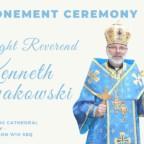 Mons. Ken Nowakowski prende possesso dell'Eparchia della Sacra Famiglia di Londra degli Ucraini