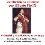 Vescovo di Trivento ha celebrato a San Lorenzo fuori le Mura la Santa Messa per Beato Pio IX