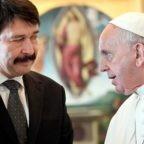 Papa Francesco incontra il presidente della Repubblica ungherese per i 30 anni degli accordi