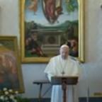 L'Angelus Domini di Papa Francesco dalla Biblioteca del Palazzo Apostolico Vaticano