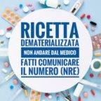 """#iorestoacasa Per limitare gli spostamenti ricette mediche dematerializzate con il""""Numero di ricetta elettronica"""""""