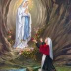 """#PrayForTheWorld - La novena """"Nostra Signora di Lourdes"""" da oggi fino al 25 marzo 2020 - #ilviruseugualepertutti"""