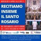 Uniamoci stasera al Pontificio Santuario della Beata Maria Vergine del Santo Rosario di Pompei