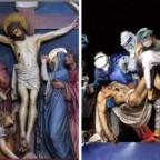 Dio ascolta la voce rauca degli invisibili. Via Crucis presieduta da Papa Francesco ieri sera sul Sagrato della Basilica di San Pietro