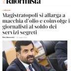 """Il Riformista di Piero Sansonetti: dopo """"magistratopoli"""" ora scoppia """"giornalistopoli"""""""