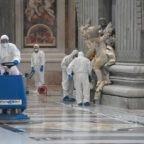 Numeri ufficiali Covid-19. In corso la sanificazione delle Basiliche papali